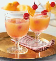 Holiday Surprise Punch #Recipe #HolidayEntertaining