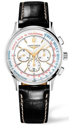 The Longines Chronograph Asthmometer-Pulsometer
