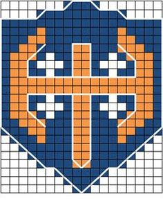Tappara on terästä - tai vaikka villaa Knitting Charts, Knitting Socks, Knitting Patterns Free, Knit Patterns, Free Knitting, Logo Branding, Logos, Fair Isle Pattern, Mittens Pattern