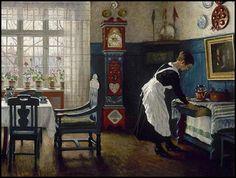 Paul Gustav Fischer, Danish 1860-1934 @@@.....http://www.pinterest.com/mashrie/art5-town-house-people/