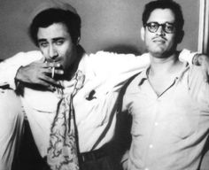 Dev Anand and Guru Dutt- the two great artists!