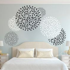 Beautiful Wall Accent Decals Beautiful Wall Accent Decals Bedroom Wall Stencils Removable Wall Accents Wallpaper Designs From Trendy Wall designs The post Beautiful Wall Accent Decals appeared first on Tapeten ideen. Bedroom Wallpaper Accent Wall, Wallpaper Stencil, Wall Wallpaper, Accent Walls, Wallpaper Designs For Walls, Glitter Wallpaper, Trendy Wallpaper, Bedroom Wall Texture, Wallpaper Design For Bedroom