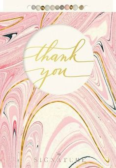 Share your gratitude with this gorgeous thank you card from Hallmark Signature, featuring artistic detail and colorful swirls. It's the perfect way to show appreciation to friends and family!