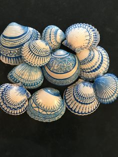 Sea Shells with Sharpie