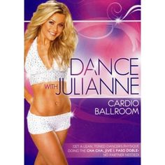 Dance with julianne: cardio ballroom. Dance with julianne. Dance Lessons, Ballroom Dancing, Stay In Shape, Dancing With The Stars, Workout Videos, Workout Dvds, Exercise Videos, Exercise Routines, Excercise