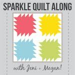 Modern Quilts | Sewing Tutorials | In Color Order: Sparkle Quilt Along: Half-Square Triangles