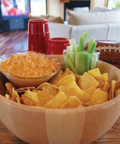 """Buff Chick"" Hot Wing Dip"