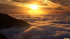Light above the clouds