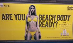 'Beach body ready' tube advert protests planned for Hyde Park