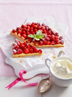 oh my, raspberry pie! (or tart!)