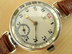 Omega silver semi-hermetic moistureproof 1921   Vintage Watches