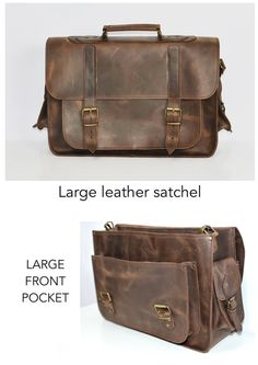 image 0 Leather Backpack For Men, Leather Briefcase, Leather Satchel, Getting Wet, Laptop Bag, School Bags, Timeless Fashion, Fashion Bags, Cross Body