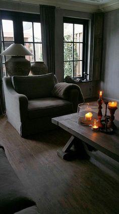 Living Spaces, Living Room, Grey Room, Interior Decorating, Interior Design, Minimalist Living, Rustic Interiors, Decoration, Rustic Decor