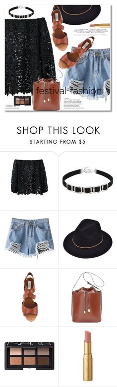 """Show Time: Best Festival Trend"" by svijetlana ❤ liked on Polyvore featuring L'Autre Chose, NARS Cosmetics, Too Faced Cosmetics, festivalfashion and zaful"