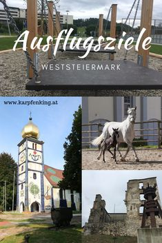 Familienfreundlich Ausflugsziele in der Lipizzanerheimat (westlich von Graz) Köflach, Bärnbach, Piber, Voitsberg