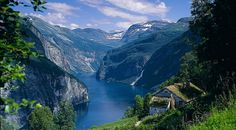 Norway, just to see a Fjord!