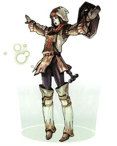 Hume White Mage from Final Fantasy XI