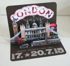 We gave our son a visit to London for confirmation. For that I made a pop-up card that does not affect We gave our son a visit to London for confirmation. For that I made a pop-up card that does not affect … – – We gave our son a visit to London for … Birthday Present For Boyfriend, Presents For Boyfriend, Boyfriend Gifts, Funny Boyfriend, Husband Birthday, Cool Birthday Cards, Birthday Diy, Birthday Presents, Birthday Ideas