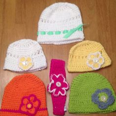 Adorable spring hats hand made in Montana!