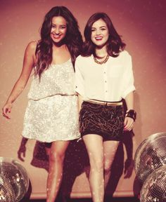 Shay Mitchell & Lucy Hale