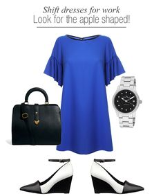 work clothes for apple shaped women - Google Search
