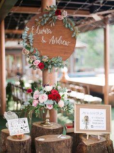 Featured Photographer:Blush Wedding Photography; outdoor wedding reception idea