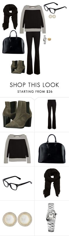 """Sem título #2109"" by analuli on Polyvore featuring moda, Schutz, Frame, M.i.h Jeans, Louis Vuitton, Tom Ford, MANGO, Ippolita, Cartier e Buccellati"