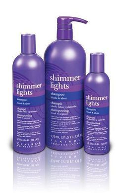 Shimmer Lights Shampoo For Blonde & Silver