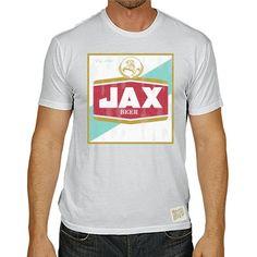Jax Beer Men's Short Sleeve Vintage Tee