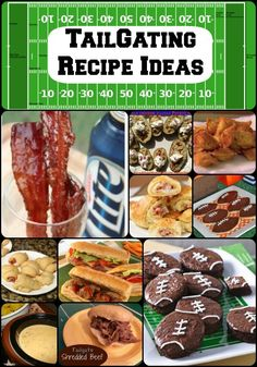 Football is back! AwesomeTailgating Recipe Ideas.