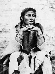 Chief Medicine Bottle (Sioux). Arrested for participation in the Minnesota massacre. Pictured here waiting for the gallows. Hanged at noon on Nov 11, 1865.