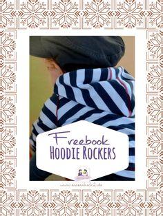 Hier kannst du unsere Schnittmuste.r für den coolen Kapuzenpulli Hoodie Rockers finden