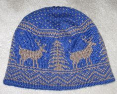This FREE pattern is in chart form with minimal written instructions. Ravelry free PDF