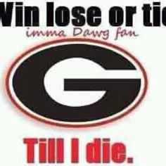 Georgia Bulldogs fan forever
