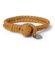 Bottega VenetaWoven-Leather Bracelet