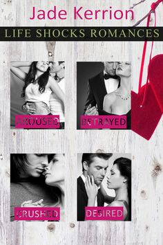 LIFE SHOCKS ROMANCES 2014 COLLECTION cover, designed by Jade Kerrion
