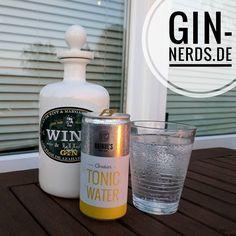 Der Wint&Lila Gin schmeckt mit dem Haindls Tonic ziemlich gut.