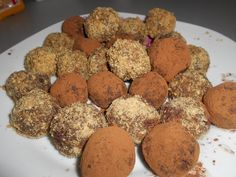 Zaxapn kai alati: Τρουφάκια με φυστικοβούτυρο και κουβερτούρα Muffin, Posts, Cookies, Breakfast, Desserts, Blog, Crack Crackers, Morning Coffee, Tailgate Desserts