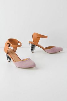 korin d'orsay pumps // anthropologie... How adorable are these for bridesmaids/?