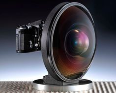 The biggest fisheye lens from Nikon
