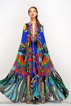 incredible, incredible Camilla- RAINBOW GATHERING LONG ANGLE CAPE