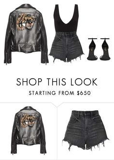 """""""They wanna break us"""" by stephchika on Polyvore featuring Gucci, Alexander Wang and Yves Saint Laurent"""
