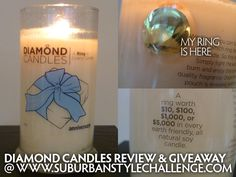 Enter to #win a Diamond Candles candle, with a ring worth up to $5000 inside! #giveaway #sponsored