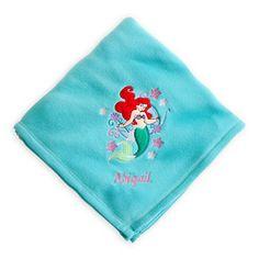 Ariel Fleece Throw - Personalizable | Fleece Throws | Disney Store