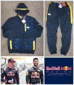 2017 Puma Red Bull Racing Infinity Tracksuit Sweat Jacket Pants F1 Motorsport