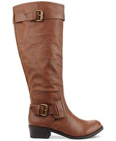 Style&co. Boots, Derby Wide Calf Boots - Wide Calf Boots - Shoes - Macy's, $105