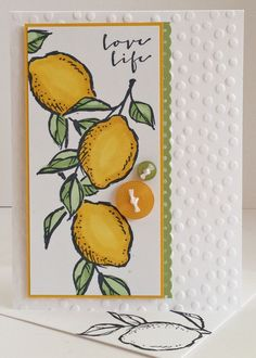 A Happy Thing stamp set from the Stampin' Up 2015 Sale-a-Bration promotion.