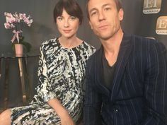 NEW Pic of Caitriona Balfe and Tobias Menzies From ET Canada | Outlander Online