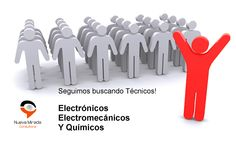Ya mandaste tu CV? Te estamos buscando!  Si sos #Técnico #Electrónico / #Electromecánico o #Químico, tenemos empleo para vos!  Mandanos tu #CV a busqueda@consultoraNM.com.ar