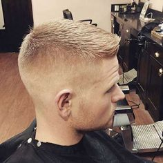 Army Style Short Haircuts for Men